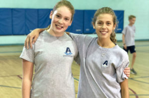 Addlestone Hebrew Academy - Girls in Gym