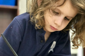 Addlestone Hebrew Academy - Student doing homework
