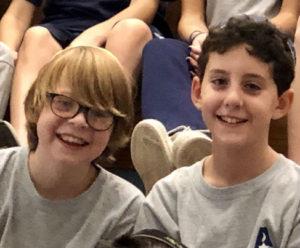 Addlestone Hebrew Acaemy - Students At ASsembly