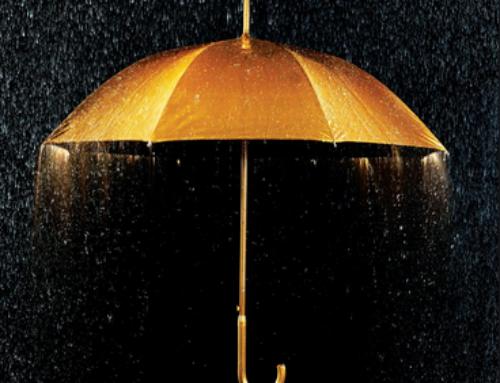 Standing in the Rain Never Felt So Nice